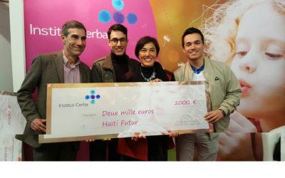 The CERBA foundation reward Haiti Futur