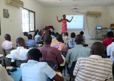 Formation au TNI des enseignants du syndicat Referans (Martissant - déc. 2012)