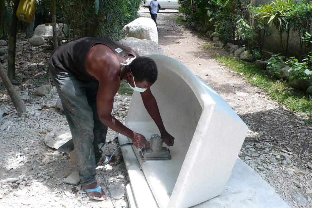Photgraphie de la terre en Haïti