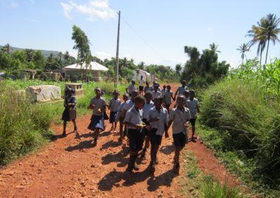 La Montagne de Jacmel - En route pour une balade pédagogique...