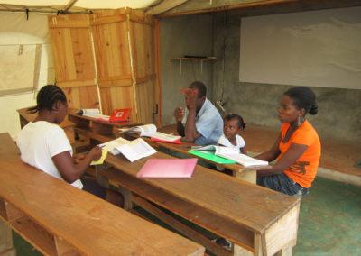 La Montagne de Jacmel - Préparation des cours.